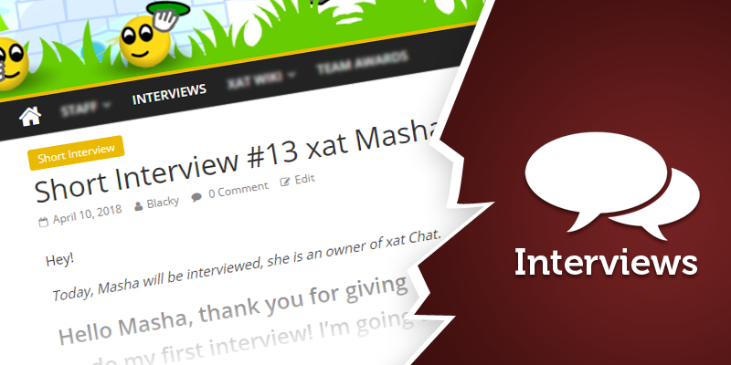Short Interview #1 xat Masha
